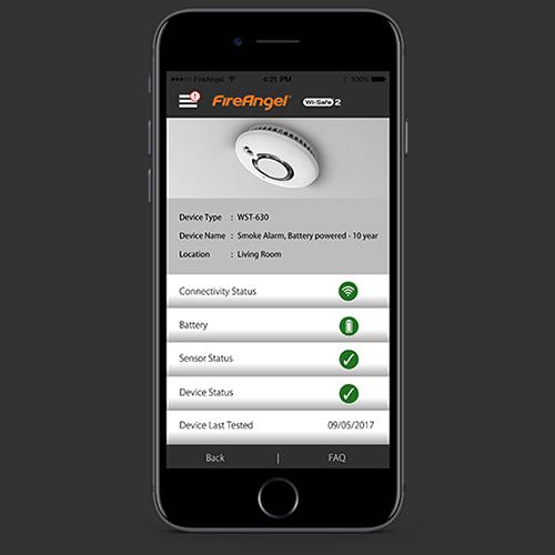 Fireangel App